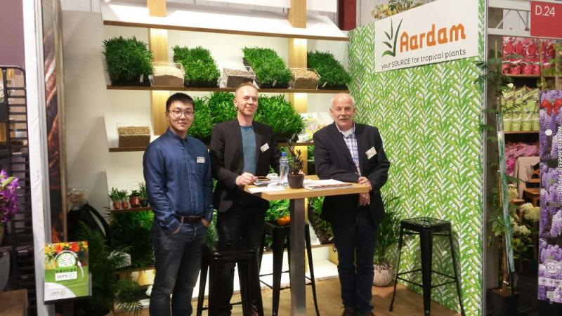 Aardam at Flora Holland Trade Fair 2017