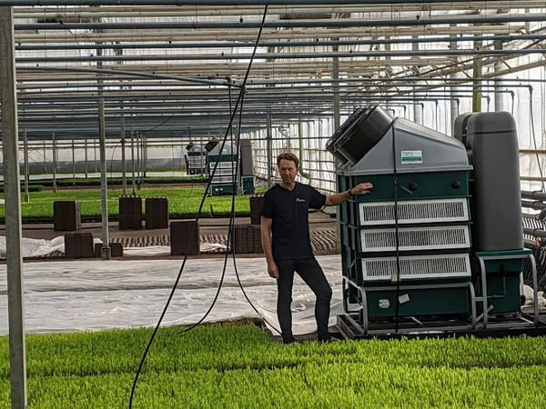 Dutch tropical plant grower, Aardam, invests in 3 additional dehumidifiers